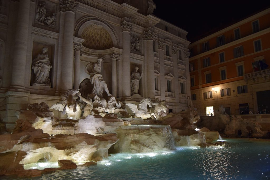 3 Days in Rome - Trevi Fountain