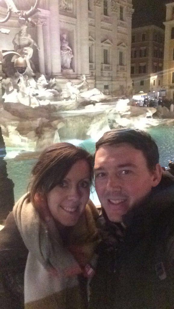 3 Days in Rome - Trevi Fountain