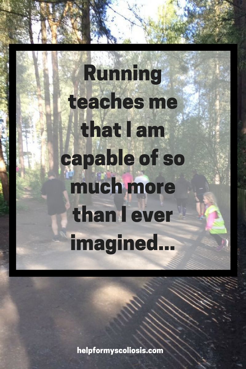 Running Park Run Quote