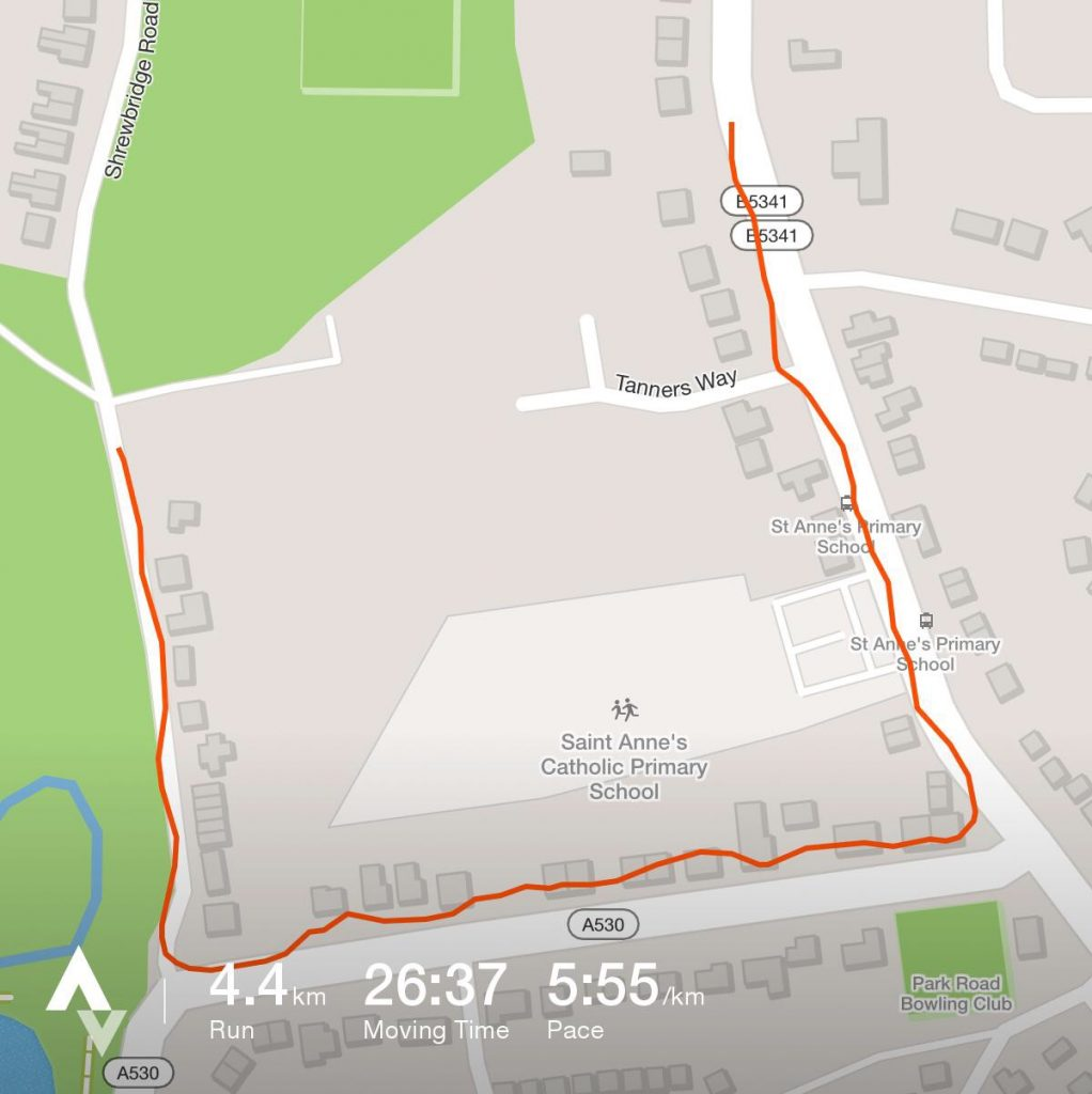 4.4km Run