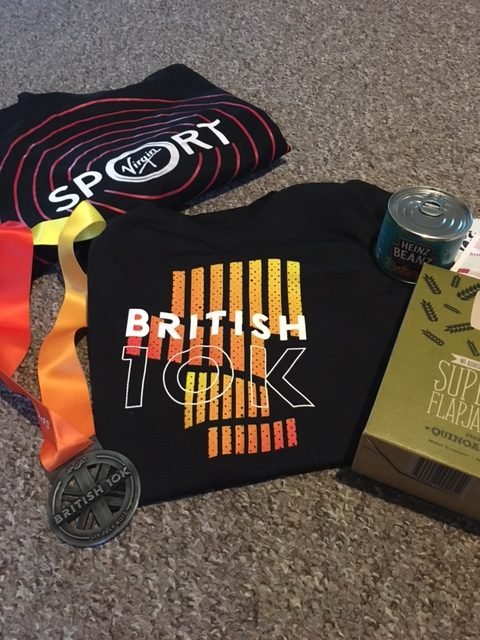 British 10K - Finishers Pack