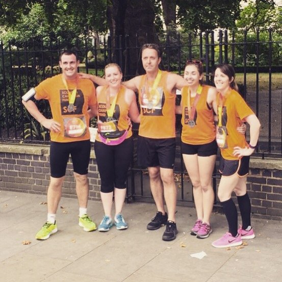 British 10K - Team Scoliosis Campaign Fund