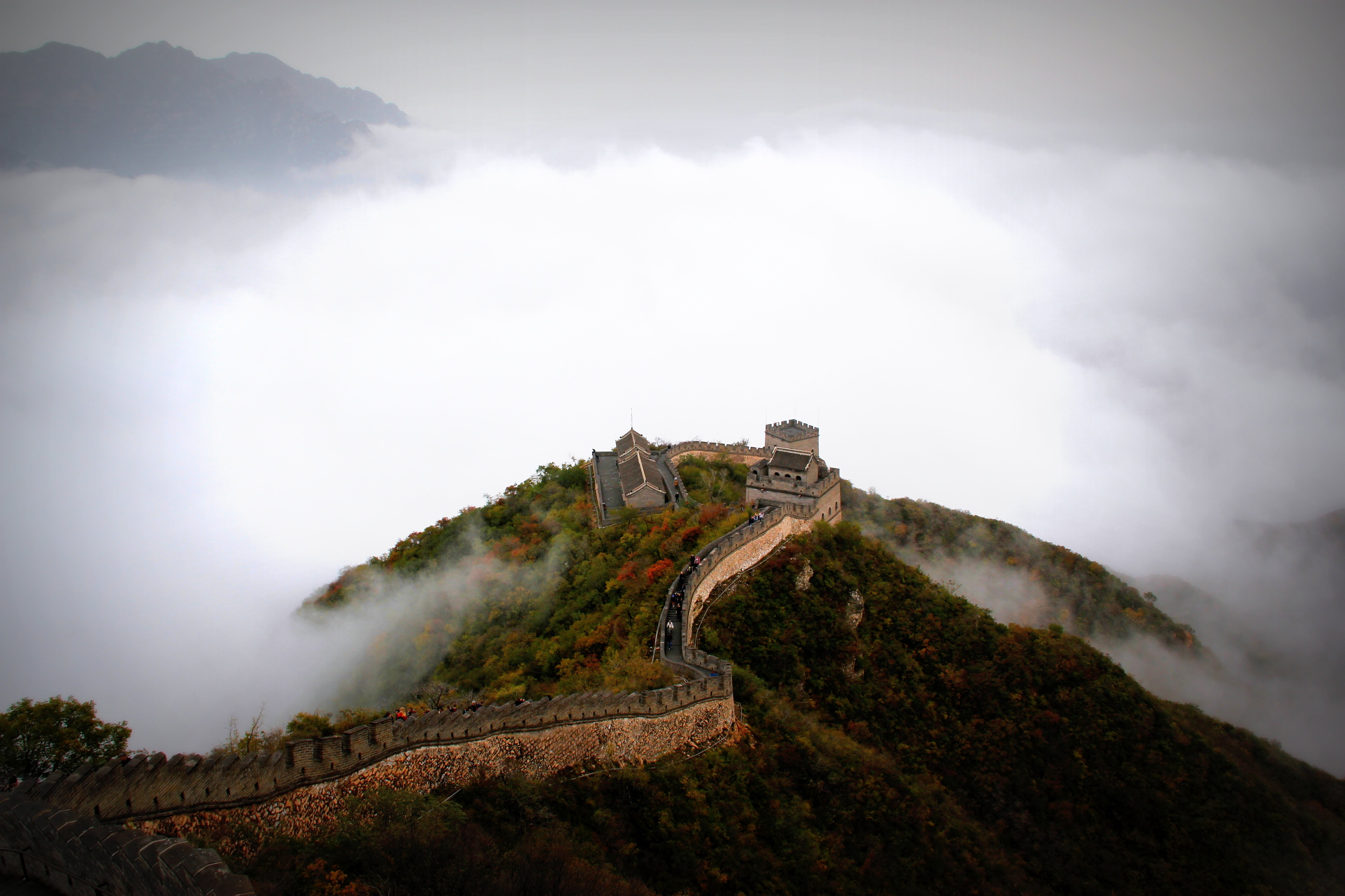 Great Wall of China - Fundraising for Scoliosis