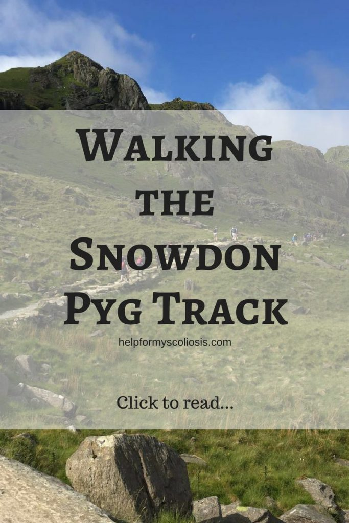 Walking the Snowdon Pyg Track