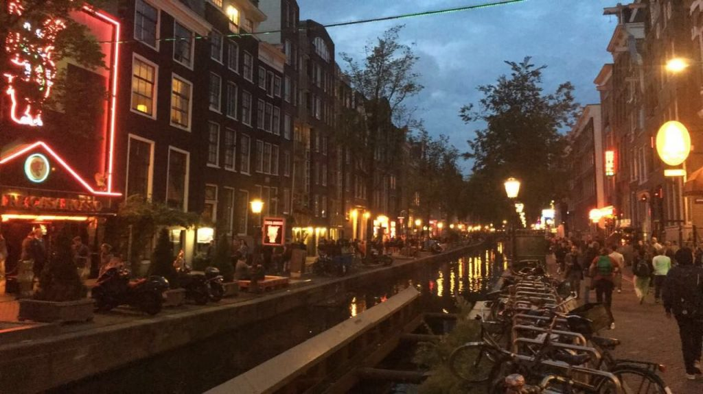4 days in Amsterdam - Red Light District