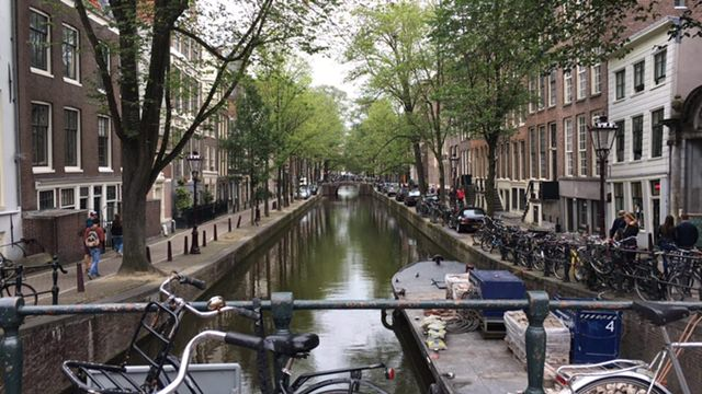 4 days in Amsterdam - canal