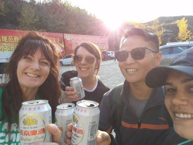China Trek Day 1 - Beers!