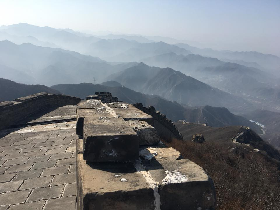 China Trek Day 5 - Badaling Great Wall view from the top