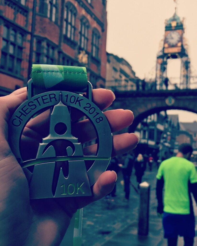 Chester 10K medal