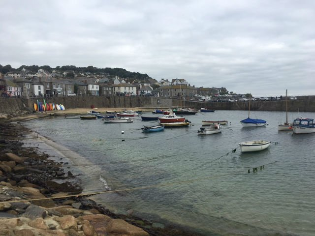 South West Coast Path - Mousehole