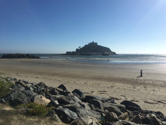 South West Coast Path - St Michaels Mount