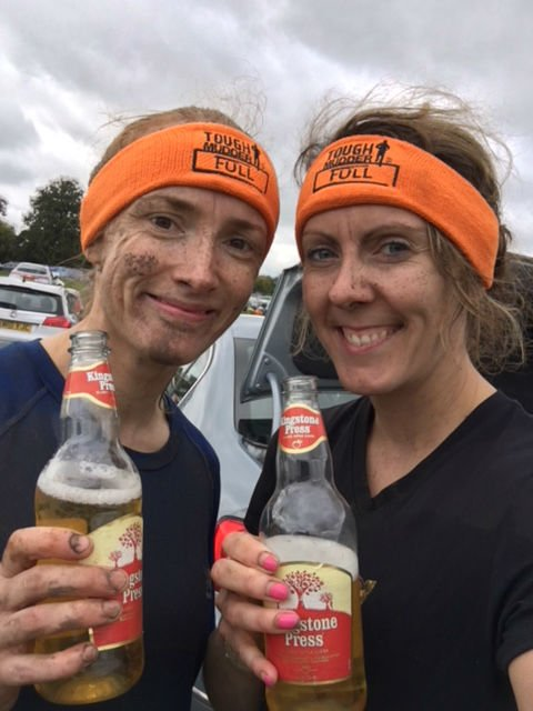 Tough Mudder Selfie