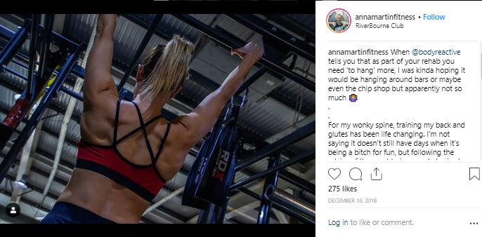 Inspiring Instagram Accounts to follow - Anna Martin Fitness