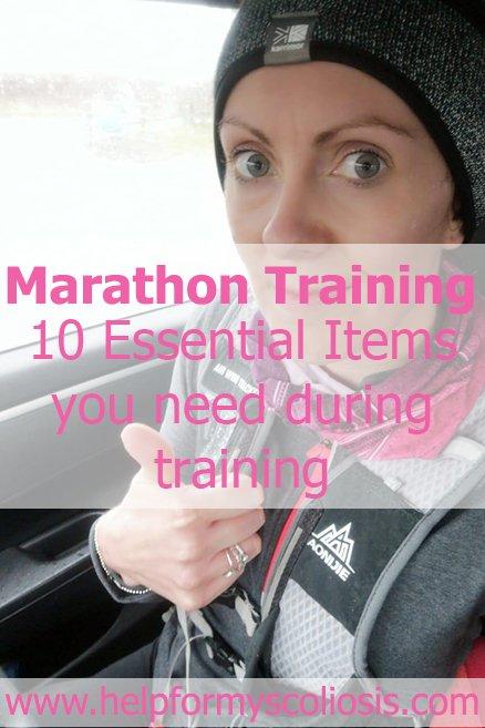Marathon Training: 10 Essential Items you need during training