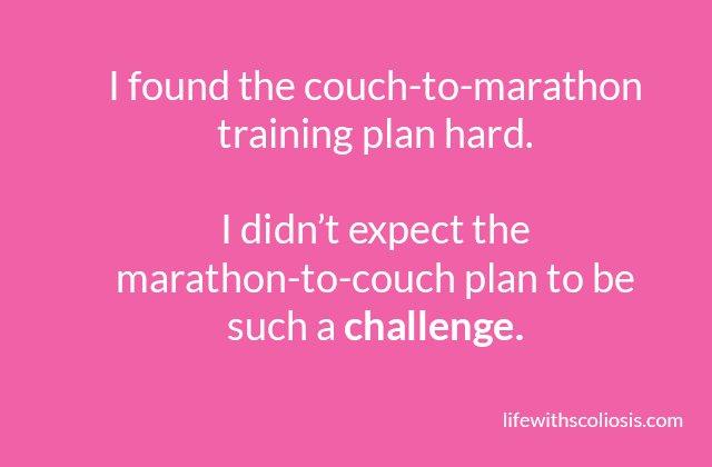 Couch to marathon quote