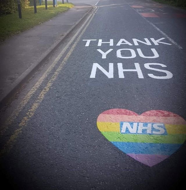 Thank you NHS Road Marking