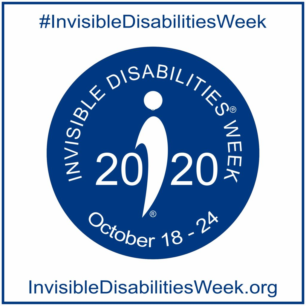 Invisible Disabilities Week Logo