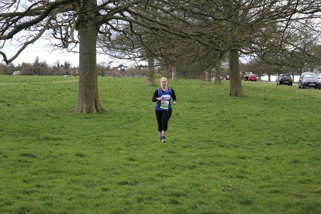 Scoliosis Awareness Month - Dannii Running through a park